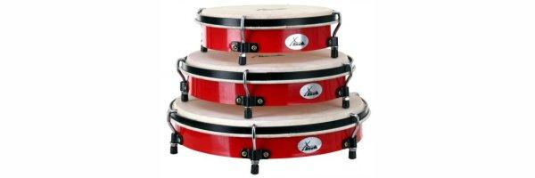 Tambourine mit Schlagfell