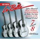 La Bella FG 178 Kindergitarren Satz für 7/8 Gitarre