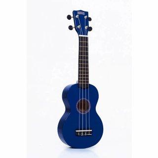 Mahalo Sopran Ukulele Rainbow Series MR1 blau mit Gitarren-Mechaniken
