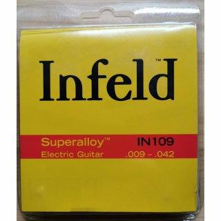 Thomastik Infeld IN-109 E-Gitarre Superalloy Roundwound Light .009-.042