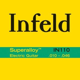 Thomastik Infeld IN-110 E-Gitarre Superalloy Roundwound Medium Light .010-.046