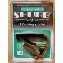 Shubb Kapodaster C3b für 12-String Messing