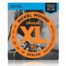 DAddario EXL110 Nickel Wound, Regular Light, 10-46