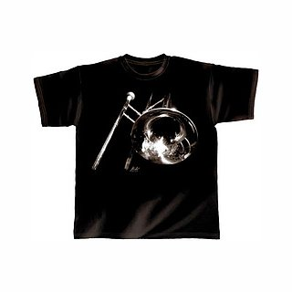 T-Shirt schwarz Trombone XL