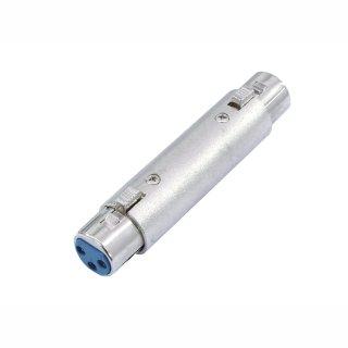 Omnitronic Adapter 3pol XLR(F)/3pol XLR(F)