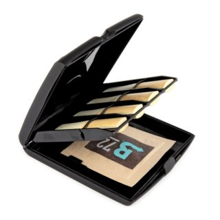 Rico Multi-Instrument Blatt-Etui mit Luftfeuchtigkeitskontrolle für alle Klarinetten und Saxophone