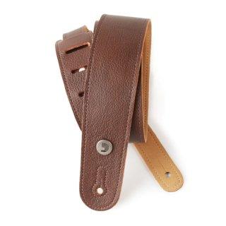 DAddario 20GL01 schmaler Gitarrengurt aus braunem Leder