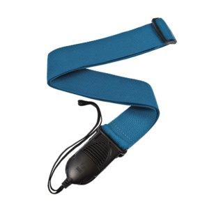DAddario PWSPA202 Gitarrengurt mit Schnellverschluss für Akustikgitarre in blau