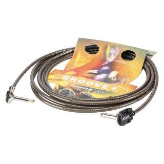SommerCable XS8J Instrumentenkabel Spirit XS Highflex, 1 x 0,75 mmý   Klinke 90ø / Klinke 90ø, HICON
