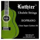 Luthier Sopran-Ukulele Satz